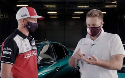 "Kimi: ""Verstappen può vincere. Leclerc crescerà"""