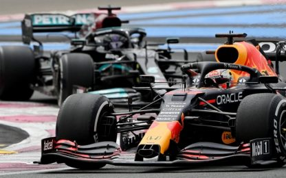 Verstappen, la mossa che ha deciso il GP Francia