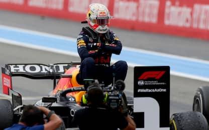 Verstappen batte Hamilton, Ferrari senza punti