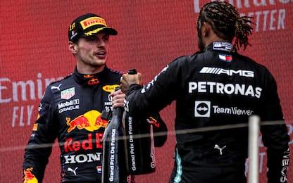 Verstappen-Hamilton, è una battaglia stupenda