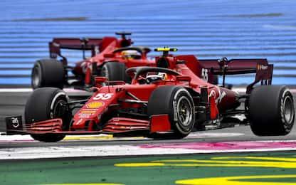 Ferrari, difficoltà per graining e sottosterzo