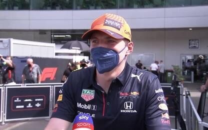"""Verstappen: """"Fattore campo? Spero aiuti a vincere"""""""