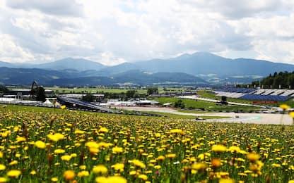 Austria bis, un occhio al cielo e uno alla pista
