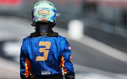 Ricciardo, una seconda chance giocata male