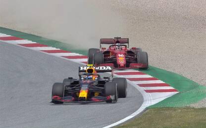 """Leclerc: """"Perez è stato troppo aggressivo"""""""