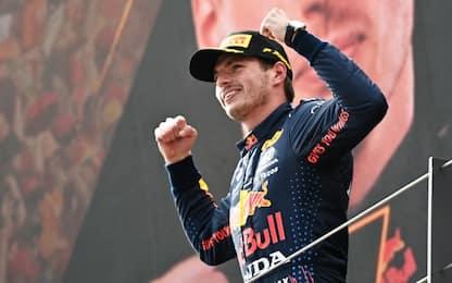 Bis Verstappen in Austria. Hamilton 4°, Sainz 5°