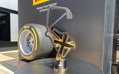 Silverstone, il trofeo un omaggio a Murray Walker