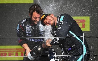 """Hamilton: """"Verstappen non mi ha lasciato spazio"""""""