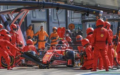 """Sainz: """"Peccato il pit-stop, ma Ferrari è veloce"""""""