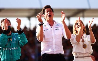 """Wolff: """"Felice che Max stia bene, sono le corse"""""""