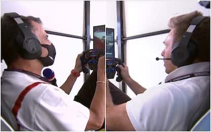 Gené-Valsecchi, grande sfida al simulatore. VIDEO