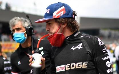 """Alonso: """"Verstappen-Hamilton? Mi aspettavo tutto"""""""
