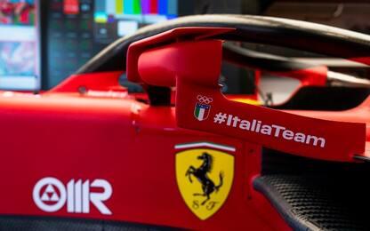"Ferrari ""olimpica"": #ItaliaTeam sulla livrea. FOTO"