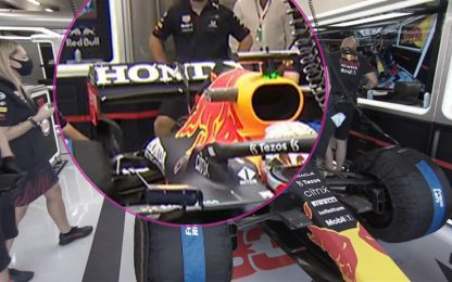 Red Bull-Mercedes, ala differente a Budapest