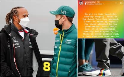Ungheria, Hamilton-Vettel contro legge anti-LGBT