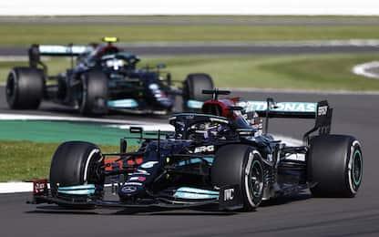 Libere 3 a Hamilton. Sainz 4°, Leclerc 5°