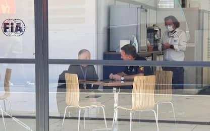 Incidente Silverstone, Todt incontra Horner