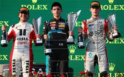 F3: successo azzurro, Nannini vince gara-2!
