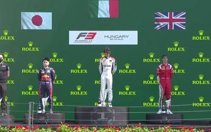 Vittoria italiana, a Colombo Gara-1 in Ungheria