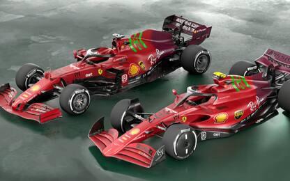 Ecco come potrebbe essere la Ferrari nel 2022