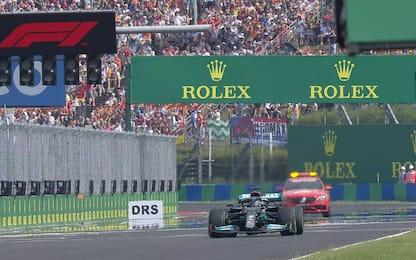 Riparte il GP, solo Lewis in griglia: mai successo