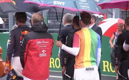 """Vettel: """"Maglia arcobaleno? Squalificatemi"""""""
