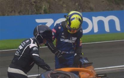 Norris, niente fratture: sarà al via del GP