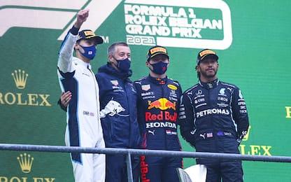 Red Bull-Verstappen, vincitori morali a Spa