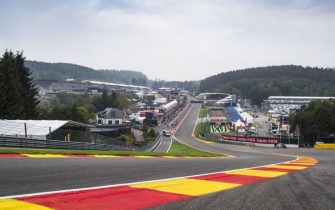 SPA-FRANCORCHAMPS, BELGIUM - AUGUST 29: A scenic view of Eau Rouge during the Belgian GP at Spa-Francorchamps on August 29, 2019 in Spa-Francorchamps, Belgium. (Photo by Sam Bloxham / LAT Images)
