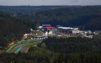 SPA-FRANCORCHAMPS, BELGIUM - AUGUST 23: A scenic view of Spa-Francorchamps during the Belgian GP at Spa-Francorchamps on August 23, 2018 in Spa-Francorchamps, Belgium. (Photo by Sam Bloxham / LAT Images)