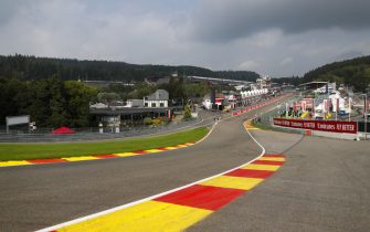 SPA-FRANCORCHAMPS, BELGIUM - AUGUST 29: A scenic view of Eau Rouge during the Belgian GP at Spa-Francorchamps on August 29, 2019 in Spa-Francorchamps, Belgium. (Photo by Zak Mauger / LAT Images)