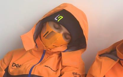 Norris, ma che fai? Lando si addormenta ai box