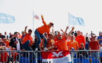"""""""Marea arancione"""", il GP dei tIfosi olandesi. FOTO"""