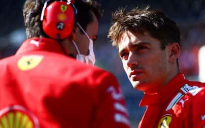 """Leclerc: """"Impossibile prendere 4° posto a Gasly"""""""