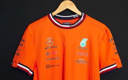 """Mercedes """"arancio"""": alla conquista dell'Olanda"""
