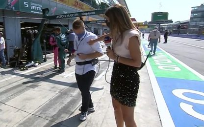 Vettel e Schumi Jr, le dediche per Valsecchi