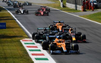 F1 a Monza: è boom di ascolti su Sky