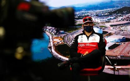 """Kimi è tornato: """"Tutto ok, concentrato su Sochi"""""""