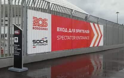 Sochi, pioggia battente: via libera per la F2