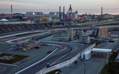 Dentro il circuito: così è Sochi. FOTO