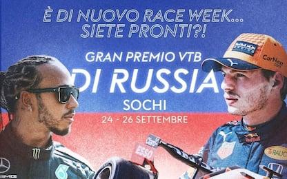 La F1 in Russia: GP domenica alle 14