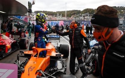 Sochi: Norris in pole a sorpresa. Super Sainz è 2°