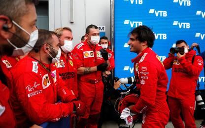 La Ferrari che lotta: il podio di Sainz a Sochi
