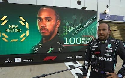 """Hamilton: """"Non ero certo di arrivare a quota 100"""""""