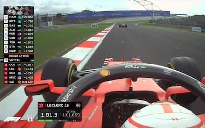 """Gioco di squadra: Sainz """"salva"""" Leclerc. VIDEO"""