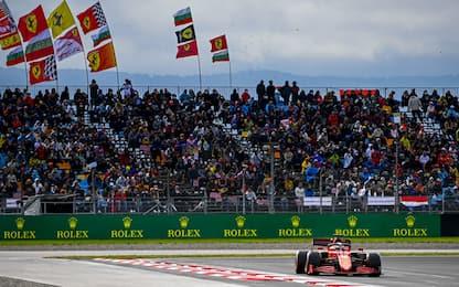 Bottas arbitro Mondiale, Leclerc punta al podio