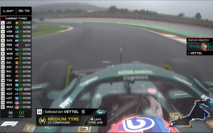 """Vettel, scelta gomme sbagliata: """"Non funzionano"""""""
