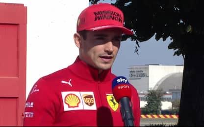 """Leclerc: """"Ferrari sta crescendo più degli altri"""""""