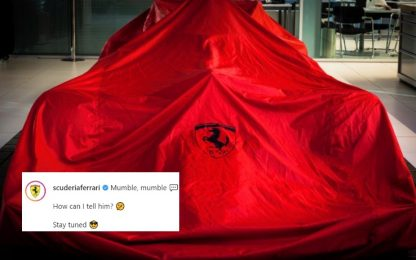 Ferrari, post misterioso: sorpresa per Leclerc?