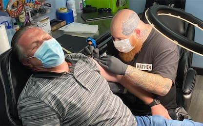 Brown paga pegno: ecco il tatuaggio per Ricciardo